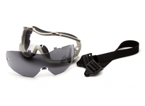 Pyramex G824TRL Gray Replaceable Lens Goggle
