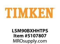 TIMKEN LSM90BXHHTPS Split CRB Housed Unit Assembly