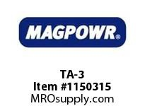 MagPowr TA-3 T-Rail Top Plate Adapter for Size UNDER PILLOW BLOCK MOUNTING LOAD CE