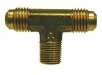 MRO 10206 1/4 X 3/8 MALE FLARE X MIP TEE