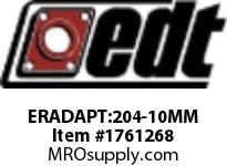 EDT ERADAPT:204-10MM ER SS ADAPTER 3/4^ > 10MM