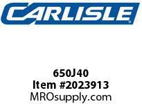 Carlisle 650J40 J Bulk Sleeves