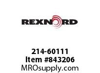 REXNORD 214-60111 GUIDERAIL SPLICE SLEEVE