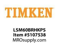 TIMKEN LSM60BRHKPS Split CRB Housed Unit Assembly