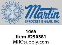 Martin Sprocket 106S HUB DETACHABLE SPLIT