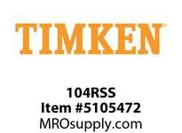 TIMKEN 104RSS Split CRB Housed Unit Component