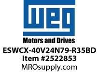 WEG ESWCX-40V24N79-R35BD XP FVNR 25HP/460 N79 230V Panels