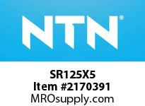 NTN SR125X5 BRG PARTS(PLUMMER BLOCKS)