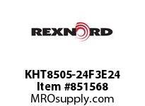 REXNORD KHT8505-24F3E24 KHT8505-24 F3 T24P N1.5 KHT8505 24 INCH WIDE MATTOP CHAIN W
