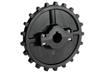 614-119-2 NS7700-21T Thermoplastic Split Sprocket TEETH: 21 BORE: 90mm Square