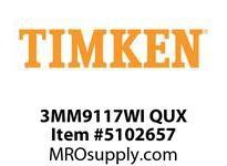 TIMKEN 3MM9117WI QUX Ball P4S Super Precision