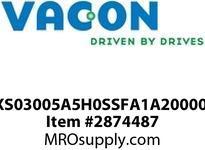 VACON NXS03005A5H0SSFA1A20000CI