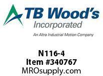 TBWOODS N116-4 NLS CLUTCH 16AD-4