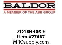 BALDOR ZD18H405-E AC VECTOR 460V 18H 3/5/7.5HP 1 DYN TRANS