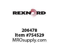 REXNORD 206478 73050155501 50 HCB HUB 55MM K7 BORE