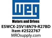 WEG ESWCX-25V18N79-R27BD XP FVNR 3HP/460 N79 120V Panels