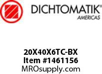 Dichtomatik 20X40X6TC-BX DISCONTINUED