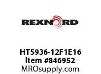 REXNORD HT5936-12F1E16 HT5936-12 F1 T16P N.875 HT5936 12 INCH WIDE MATTOP CHAIN WI