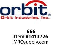Orbit 666 INDOOR NEMA 1 SCREW COVER ENCLOSURE 6X6X6