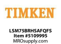 TIMKEN LSM75BRHSAFQFS Split CRB Housed Unit Assembly