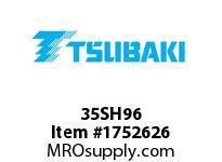 US Tsubaki 35SH96 35SH96 QD SPKT HT