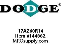 DODGE 17AZ60R14 TIGEAR-2 E-Z KLEEN REDUCER