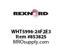 REXNORD WHT5996-24F2E3 WHT5996-24 F2 T3P WHT5996 24 INCH WIDE MATTOP CHAIN W