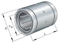 INA KB50100PP Linear precision ball bearing