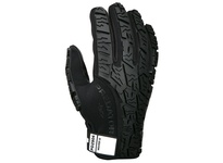 MCR PD2904XXL Predator Synthetic Leather Palm polymer pads on fingertips palm and thumb crotch black spandex fabric back