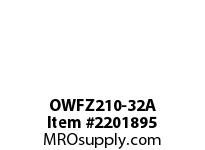 PTI OWFZ210-32A 2-BOLT PILOTED FLANGE BEARING-2 OWFZ 200 SILVER SERIES - NORMAL DUT