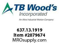 TBWOODS 637.13.1919 STEP-BEAM 13 3/16 --3/16