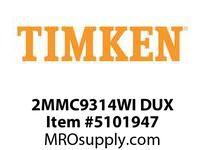 TIMKEN 2MMC9314WI DUX Ball P4S Super Precision