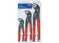 Kniplex 00 20 06 US1 SET 3 PC COBRA PLIERS SET (7 10 & 12)