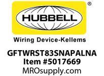 HBL_WDK GFTWRST83SNAPALNA 20A COM ST TRWR HG SNAP GFR USA ALM