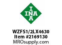 INA WZFS1/2LX4630 Linear fast shaft precision