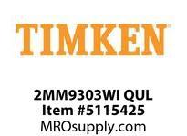 TIMKEN 2MM9303WI QUL Ball P4S Super Precision