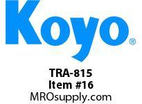 Koyo Bearing TRA-815 NEEDLE ROLLER BEARING THRUST WASHER (ORDER BY MULTIPLES OF 10)