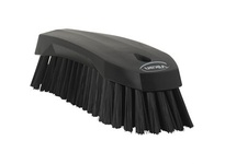 REMCO 38909 Vikan Scrub Brush Hand Scrub Brush- Stiff- Black (rep