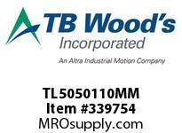 TBWOODS TL5050110MM TL5050X110MM TL BUSHING