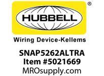 HBL_WDK SNAP5262ALTRA S-CONNECT DUP 15A/125V TR ALST2