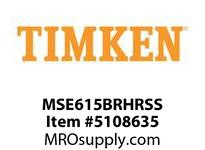 TIMKEN MSE615BRHRSS Split CRB Housed Unit Assembly