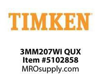 TIMKEN 3MM207WI QUX Ball P4S Super Precision