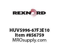 REXNORD HUV5996-67F3E10 HUV5996-67 F3 T10P HUV5996 67 INCH WIDE MATTOP CHAIN W