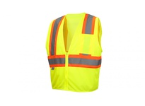 Pyramex RVZ2210SEX2 Hi-Vis Lime - Self-Extinguishing - Size 2X Large