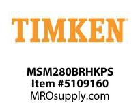TIMKEN MSM280BRHKPS Split CRB Housed Unit Assembly