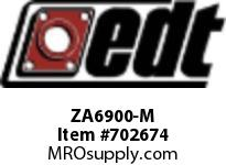 EDT ZA6900-M SS RADIAL BALL BEARING W/HIGH TEMP LUBE