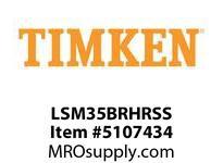 TIMKEN LSM35BRHRSS Split CRB Housed Unit Assembly