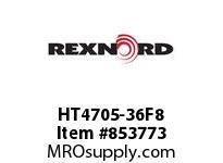 REXNORD HT4705-36F8 HT4705-36 F3 T8P S3 N1.25