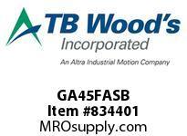 TBWOODS GA45FASB ACK GA4 1/2 SHROUDED BOLT