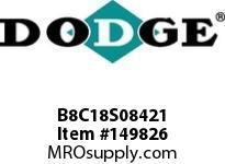 DODGE B8C18S08421 BB883 180-CC 84.21 2^ S SHFT
